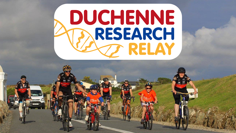 Duchenne Research Relay graphic