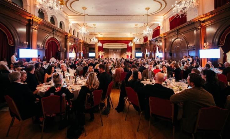 Guests enjoying MDUK's Great Chef's Dinner 2019