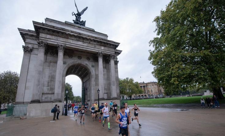 runners in London